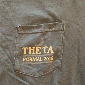 Comfort Colors Tops - Theta formal tshirt